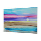 Original Painting Direct from Artist - Jon Allen - Pastel Desert - Abstract Modern Original Painting by Jon Allen - Pastel Desert | by Jon Allen