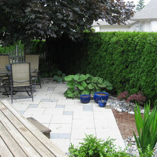 Traditional Patio by Easton Landscape Design and Installation