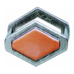Hafele - Hafele: Handle: Zinc: Pewter / Copper: M4: Center To Center 96mm - Hafele: Handle: Zinc: Pewter / Copper: : Center To Center 96mm