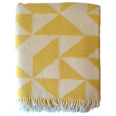 Contemporary Blankets by Elisabeth Dunker