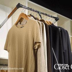 Saint Louis Closet Co. Accessories - Pull-down Rod for high ceilings.  Saint Louis Closet Co.