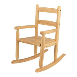 KidKraft - 2-Slat Rocker, Natural by Kidkraft - Our 2-Slat Rocking Chair brings new life to the 2-slat design. If unsure about exactly which rocking chair you want to purchase, this classic design is a wise, safe decision.