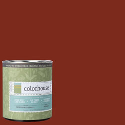 Inspired Eggshell Interior Paint, Wood .03, Quart - Colorhouse paint are zero VOC, low-odor, Green Wise Gold certified and have superior coverage and durability. Our artist-crafted colors are designed to be easy backdrops for living. Colorhouse paints are 100% acrylic with no VOCs (volatile organic compounds), no toxic fumes/HAPs-free, no reproductive toxins, and no chemical solvents.