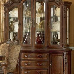 ART Furniture - Old World China Cabinet - ART-143243-143242-2606 - Old World Collection China Cabinet