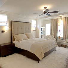 Contemporary Bedroom by LG Construction + Development