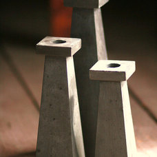 Contemporary Candleholders by Etsy