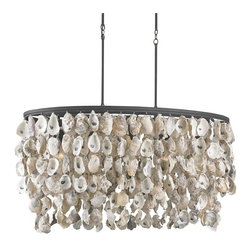 Stillwater Sea Shells Chandelier - ORDER ON HOUZZ TODAY FROM LEE LIGHTING.