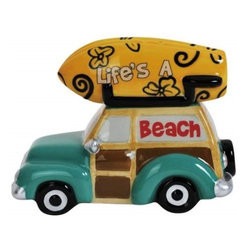 Westland - 3 Inch Life's A Beach Surfboard on Car Salt and Pepper Shakers - This gorgeous 3 Inch Life's A Beach Surfboard on Car Salt and Pepper Shakers has the finest details and highest quality you will find anywhere! 3 Inch Life's A Beach Surfboard on Car Salt and Pepper Shakers is truly remarkable.