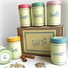 Traditional Spice Jars And Spice Racks by Not on the High Street