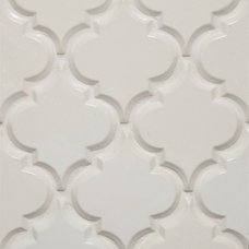 Eclectic Tile Beveled Arabesque Tile