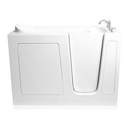 Ariel Bath - Ariel EZWT-3048-DUAL Walk-In Bathtub 48x29x38 - Right - Ariel Walk-In Bathtubs combine safety and convenience. They come with a door and built in seat so you can enjoy a private & relaxing bath experience.