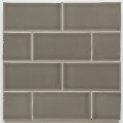 H Line- 3x6 Glossy Subway Tile- Pearl - 10 Square Feet - H Line- 3x6 Glossy Subway Tile- Pearl - 10 Square Feet