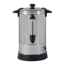 Nesco - Nesco CU-30 Stainless Steel 6.8-liter Professional Coffee Urn - The Nesco Coffee Urn is constructed of stainless steel and features double wall insulation,allowing it to retain heat longer than single wall models. Its hefty capacity can hold up to 30 5.7-ounce cups.