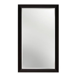 Alno Inc. - Contemporary Cabinet Mirror (ALNMC40244-BRZ) - Contemporary Cabinet Mirror