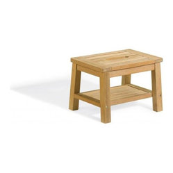 Oxford Garden - Stool - In addition to being stylish, this little handy Gardener's Stool is very practical and useful. Handcrafted of shorea hard wood using mortise and tenon joinery, it will stand the test of time.