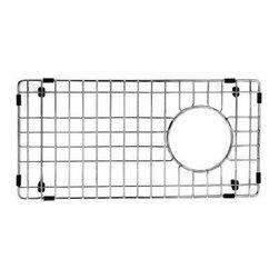 Vigo Industries - Vigo 8 x 17 in. Kitchen Sink Bottom Grid - Maintain the beauty of your kitchen sink basin with a Vigo kitchen sink bottom grid.