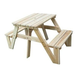 Lohasrus Patio Kids Picnic Table