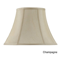 None - Cal Lighting 16-Inch Vertical Piped Basic Bell Shade - Cal Lighting carries a variety of products that include wrought iron,mission/mica,lifestyle,juvenile,traditional/classical,task/functional and track/display lighting.