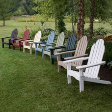 traditional outdoor chairs by Hayneedle