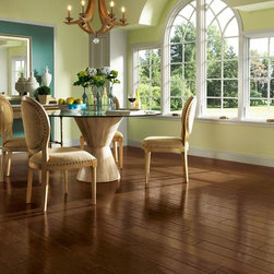 American Scrape Hardwood - Hickory - Amber Grain - This stunning hardwood collection is inspired by the beauty of the American landscape.