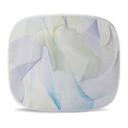 Oxford Porcelains - Karim Rashid Line-Fusion Dinner plate - Special addition. The beauty of this striking dinner plate is that you can add it to your existing patterns or solid color dinnerware for stunning effect.
