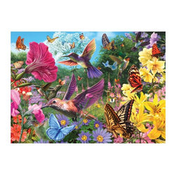 Masterpieces - Masterpieces Glow in the Dark Floral Frenzy Puzzle Multicolor - 31286 - Shop for Puzzles from Hayneedle.com! About Masterpieces Puzzles & GamesFor the past 17+ years Masterpieces has delighted kids and parents. From art kits to puzzles of all levels Masterpieces ensures playtime activities that develop cognition as much as they foster fun. All Masterpiece items are tested for safety and this company is definitely eco-minded: All of their puzzles are manufactured using board with 100% recycled post-consumer materials their puzzle sheets wraps and catalogs are printed with soy-based inks and even included storage bags are biodegradable. Quality mindful products are what you can expect from Masterpieces.
