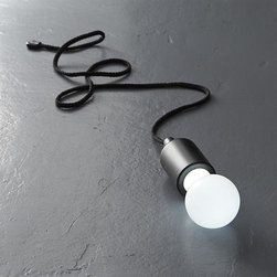 Pull Light - True to its name, this handy, battery-operated light fixture hangs around anywhere you need a better look: closet, garage, campsite, grill and more. Adjustable 4-foot cord hangs or ties just about anywhere; LED bulb has a long life.