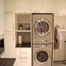 Modern Laundry Room by Total Spaces Design