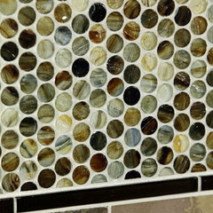 bathroom tile by Stone & Pewter Accents
