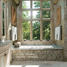 Contemporary Bathroom by Pella Windows and Doors