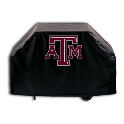 """Holland Bar Stool - Holland Bar Stool GC-TexA-M Texas A&M Grill Cover - GC-TexA-M Texas A&M Grill Cover belongs to College Collection by Holland Bar Stool This Texas A&M grill cover by HBS is hand-made in the USA; using the finest commercial grade vinyl and utilizing a step-by-step screen print process to give you the most detailed logo possible. UV resistant inks are used to ensure exeptional durablilty to direct sun exposure. This product is Officially Licensed, so you can show your pride while protecting your grill from the elements of nature. Keep your grill protected and support your team with the help of Covers by HBS!"""" Grill Cover (1)"""