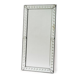 Go Home - Go Home Emperor Mirror - Give your room sophisticated look by displaying Emperor Mirror to wall. It is fully crafted from mirror for durability. The antique color finish will certainly suit your style.