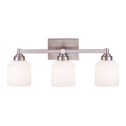 """Savoy House Pewter Bath 24.25"""" Wide Wilmont 3 Light Bath Bar - Product Highlights"""