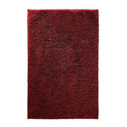 "Garland Rug - Bath Mat: Accent Rug: Queen Cotton Chili Pepper Red 30"" x 50"" Bathroom - Shop for Flooring at The Home Depot. Add elegance and beauty with Queen Cotton Bath Rugs. Soft loop pile made of 100% U.S. Cotton in an elegant and classic pattern will go with any bathroom design. Proudly made in the USA."