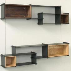 Modern Wall Shelves by 2Modern