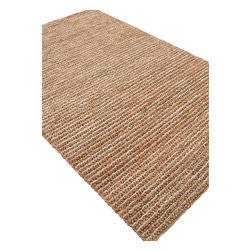 Jaipur - Natural Fiber Naturals Seaside 8'x10' Rectangle Natural Beige Area Rug - The Naturals Seaside area rug Collection offers an affordable assortment of Natural Fiber stylings. Naturals Seaside features a blend of natural Natural Beige color. Natural of 100% Hemp the Naturals Seaside Collection is an intriguing compliment to any decor.