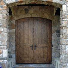 Contemporary Front Doors by R & J RAVEN