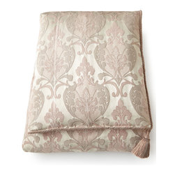 "Sweet Dreams - King Damask Duvet Cover 106"" x 96"" - SILVER/BLUSH (106X96) - Sweet DreamsKing Damask Duvet Cover 106"" x 96""Designer About Sweet Dreams:In 1986 Denise Sansing launched Sweet Dreams a collection of intricately designed and elegant bedding and accessories. Sansing whose design studio is located in Texas focuses on heirloom-quality linens drawing inspiration for her Sweet Dreams line from antique European textiles."
