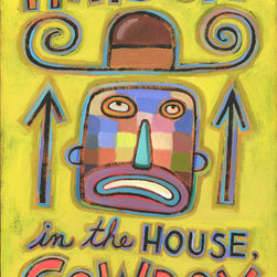 Hal Mayforth - Hats Off in the House, Cowboy Giclee Print From Hal Mayforth - Limited Edition