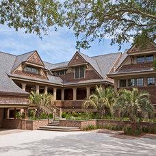 Traditional Exterior by Buffington Homes South Carolina