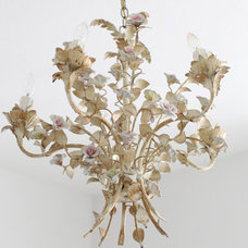 Traditional Chandeliers by Dreamy Whites