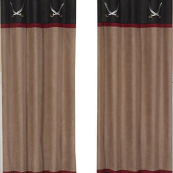 Sweet Jojo Designs - Pirate Treasure Cove Window Panels (Set of 2) - The Pirate Treasure Cove window curtain panel set (2 panels) will help complete the look of your Sweet Jojo Designs room. These window treatments instantly change the look and feel of any room, adding layers of warmth and style. Each of the 2 panels measures 42in. x 84in.