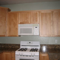 Contemporary Kitchen Cabinetry by Belle Choices