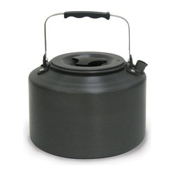 Stansport - Back Pack Kettle - Hard anodized aluminum backpack kettle. Holds 1.5 liters. Folding handle and comes with a mesh carry bag. This item cannot be shipped to APO/FPO addresses. Please accept our apologies.