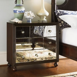Tommy Bahama by Lexington Home Brands Royal Kahala Starlight Mirrored 3 Drawer N