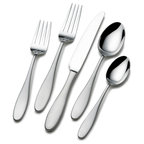 Towle 'Luxor' 20-piece Flatware Set - contemporary - flatware - by