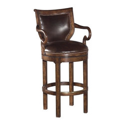 EuroLux Home - New Swivel Barstool Bar Stool Chocolate - Product Details