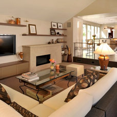 Modern Family Room by HMH Architecture + Interiors