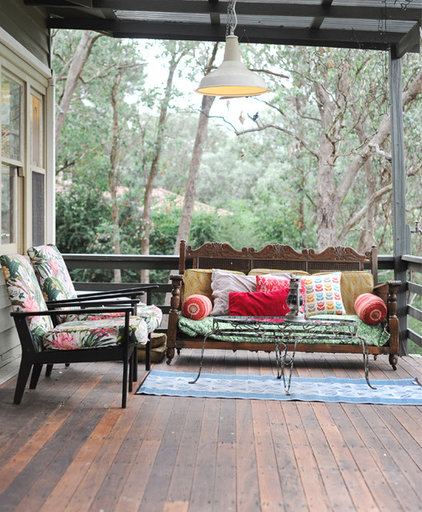Eclectic Patio by Sweet William