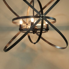 Eclectic Chandeliers by red: modern lines . vintage finds
